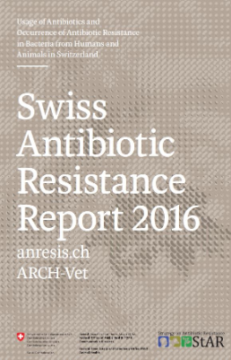 Titelblatt Swiss Antibiotic Resistance Report 2016
