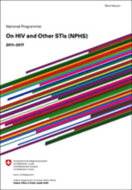 Cover National Programme HIV, Short Version
