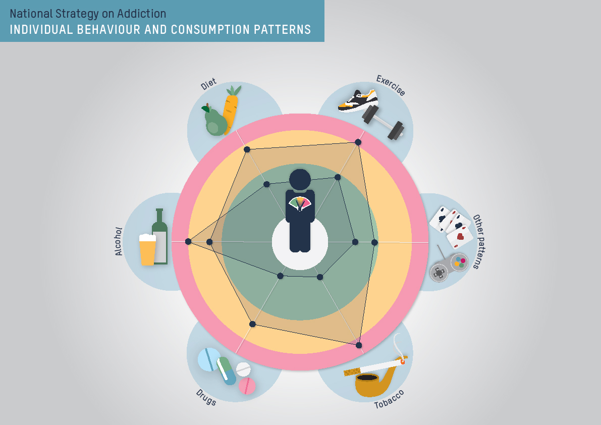 Individual behaviour and consumption patterns